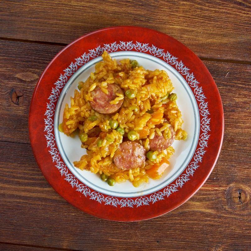 Classic Spanish Chorizo Rice