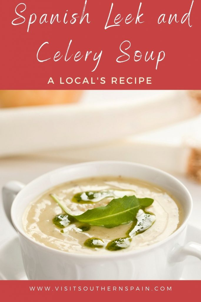 Are you looking for an easy leek and celery soup recipe? This is one of the most popular leek and celery recipes out there! It's easy, quick and tremendously healthy. The recipe for this celery leek soup comes from Spain and is one of our favorite Spanish soups. On some occasions, it can even be enjoyed cold. According to your needs this recipe can also easily be converted into a potato leek and celery soup to enjoy on cold days in winter. #spanishsoups #leekcelery #leekcelerysoup #leekceleryrecipes