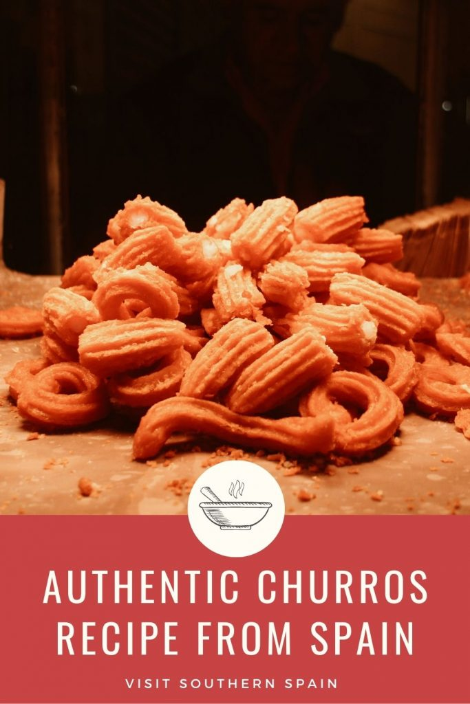 Are you looking for an Authentic Churros Recipe from Spain? There's nothing better than homemade churros with a delicious churro dipping sauce. This authentic Spanish churros recipe is a simple dessert yet a very famous one all over the world. The churro recipe is perfect because you can play with the flavors - Oreo churros, cinnamon churros, churros with ice cream, or the classic churros with chocolate sauce. You name it! #churros #spanishchurros #churrosconchocolate #authenticchurros
