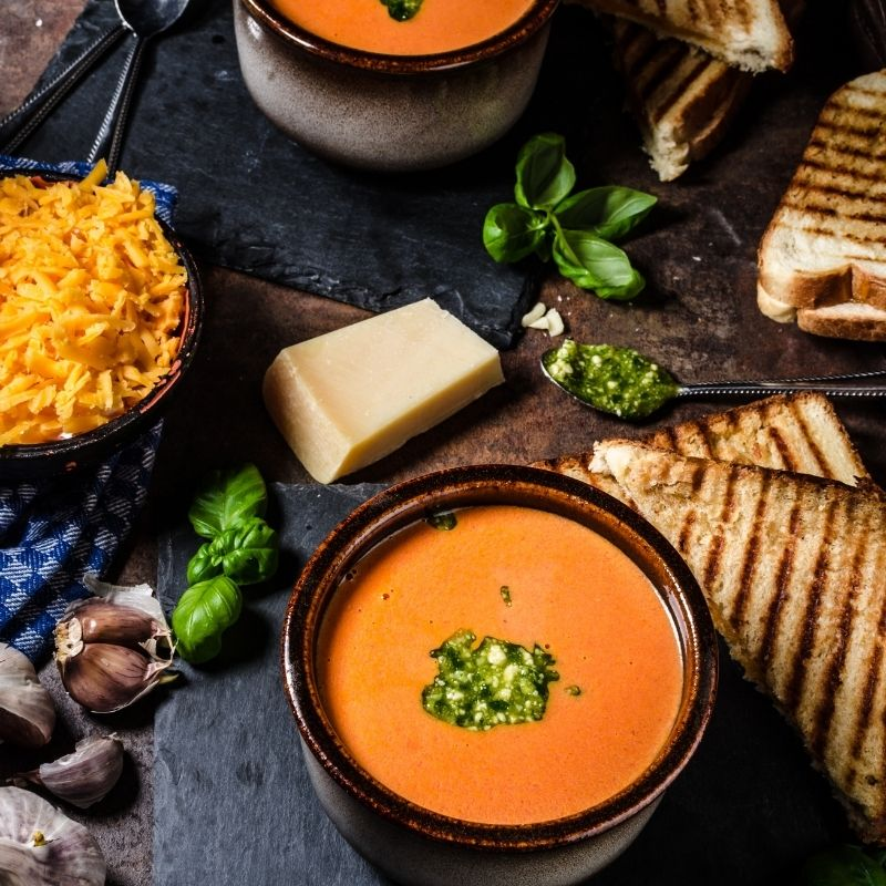 Spanish Tomato Leek Soup Recipe