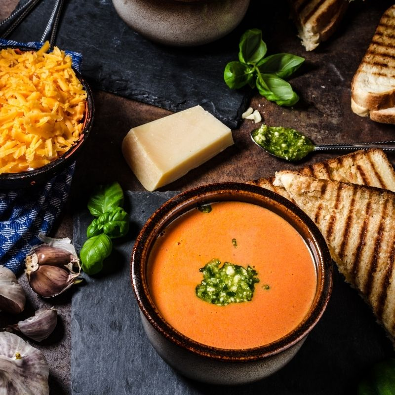 what to serve with gazpacho