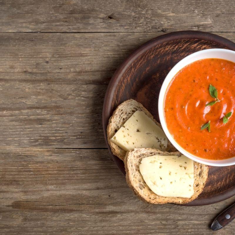 homemade creamy tomato soup