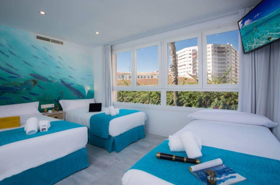 Casual del Mar Málaga, best family hotel in malaga
