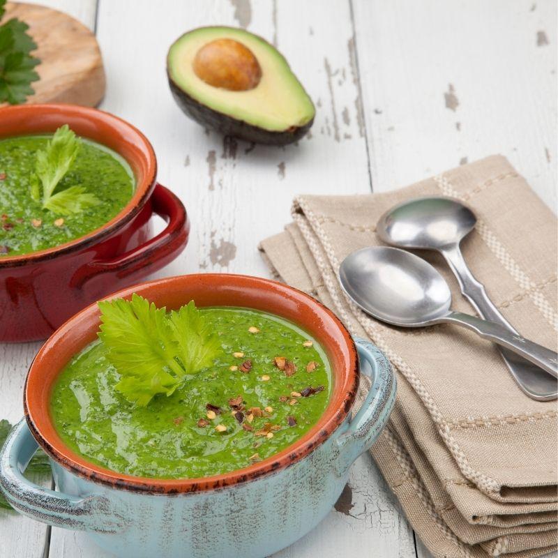 Delightful Avocado Gazpacho Recipe