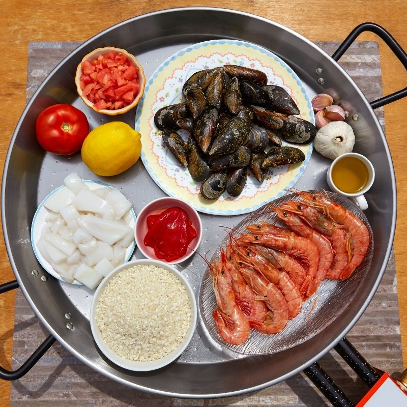best seafood paella recipe