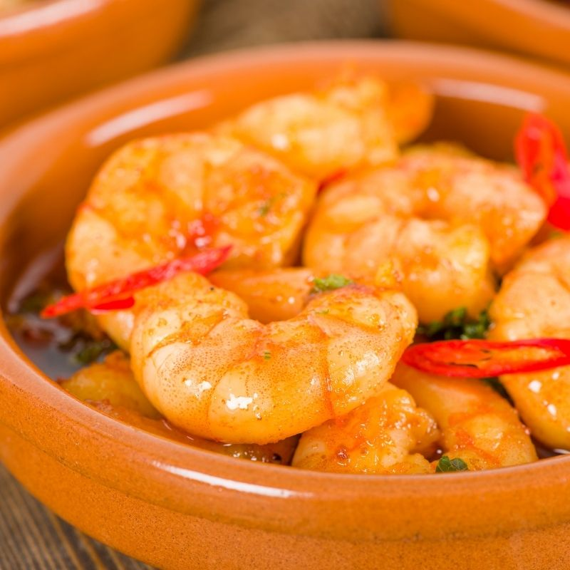 Andalusian Spicy Gambas al Pil Pil