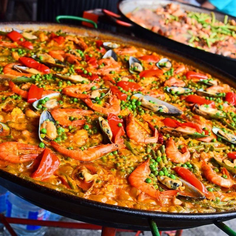 20 Free Things to do in Malaga, lunch in Malaga