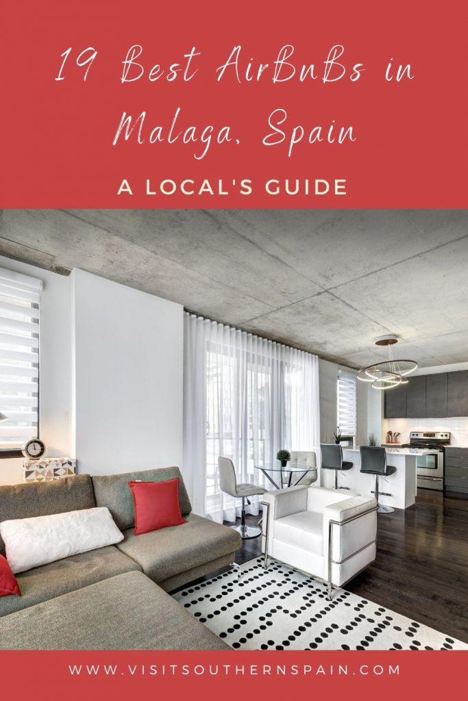 Are you looking for the best AirBnBs in Malaga, Spain? When visiting Malaga city you should consider staying at an Airbnb since Malaga is one of the best places for Airbnb. The beautiful city offers house rentals, cheap apartments for rent, and also Airbnb extended stays. There are many unique stays that you can choose from and you can have a truly authentic stay and live like an Andalusian. Here are the 19 best Airbnbs in Malaga right now. #airbnbmalaga #malaga #airbnbs #Andalucia #bestairbnb