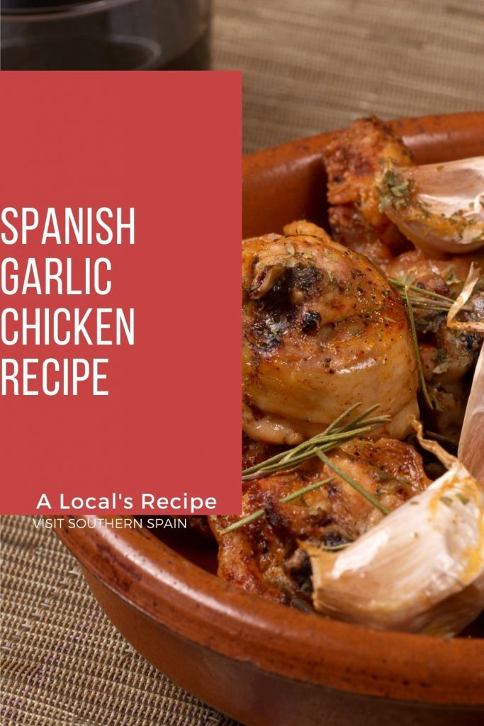 Are you looking for a Spanish garlic chicken recipe? Once you've tried our garlic chicken you won't prepare chicken in another way. The sweetness and spiciness of the garlic give this garlic chicken recipe a flavorful punch with every bite you take. The Spanish chicken and garlic are perfect for lunch or dinner and it's the best Spanish chicken recipe, that can be found in every restaurant in Spain. Try it and you won't regret it! #spanishchicken #garlicchicken #polloalajilo #spanishrecipe #spain