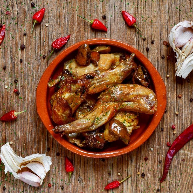 Spanish Garlic Chicken - Pollo Al Ajillo Recipe