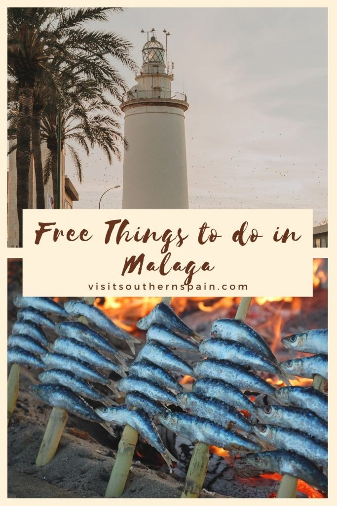 Are you looking for free things to do in Malaga, Spain? We've compiled for you a 3-day itinerary so your holiday in the beautiful Andalucian city can be as seamless as possible. Whether you're after things to do with friends or family, Malaga city offers you some of the best experiences, all of them for free. Relax on the beach, visit a museum or stroll in the park, and many more inside our guide for the 20 free things to do in Malaga. #freethings #malagaholiday #andalucia #freethingsinmalaga