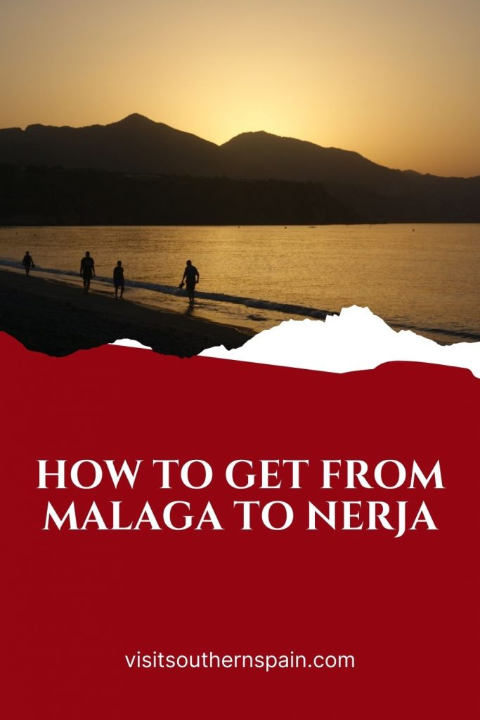 Are you wondering how to get from Malaga to Nerja? This is the definitive guide to getting from Malaga to Nerja. Whether you want to travel to Nerja by bus or train, this page has all the information you need. There is also an easy way to travel from Malaga airport to Nerja if you plan to land in Malaga. Traveling to Nerja has never been easier and this is a trip you won't regret doing. Get the best travel tips from Malaga to Nerja. #frommalatatonerja #malaga #nerja #costadelsol #travelguide