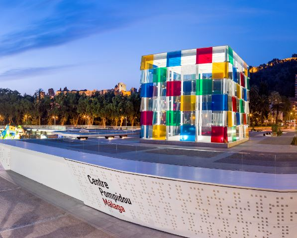 20 Free Things to do in Malaga, Centre Pompidoul