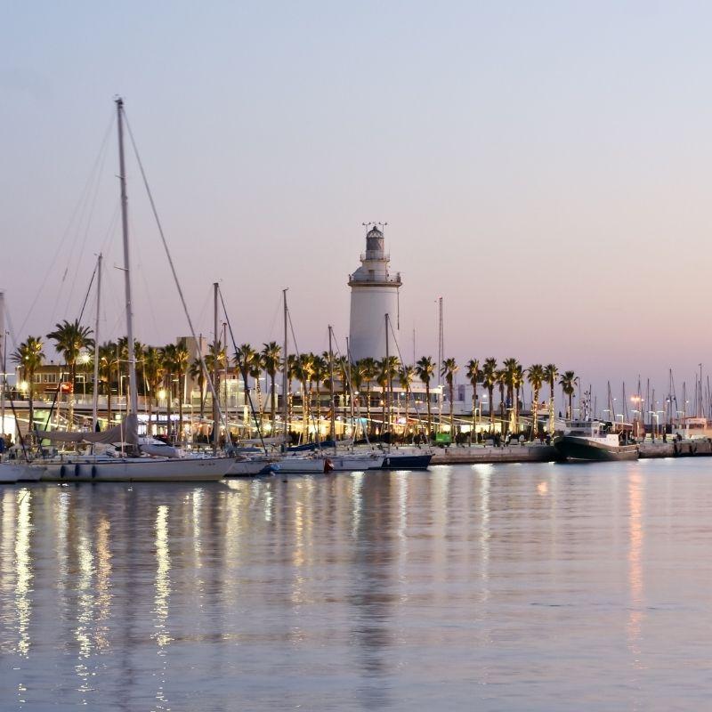 20 Free Things to do in Malaga, Puerto de Malaga