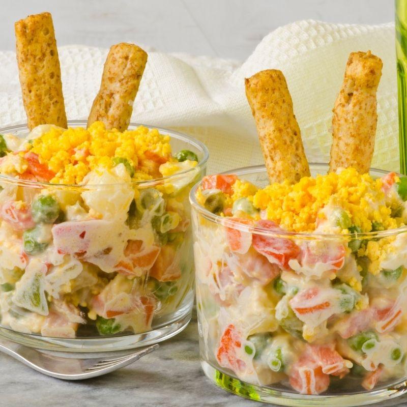 Spanish Potato Salad - Ensaladilla Rusa Recipe