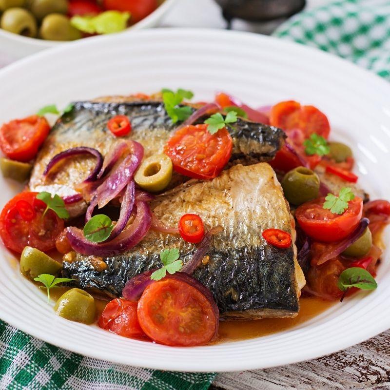 Delicious Grilled Spanish Mackerel