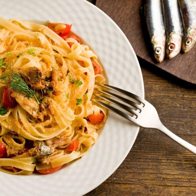 Must-Try Spanish Sardines Pasta
