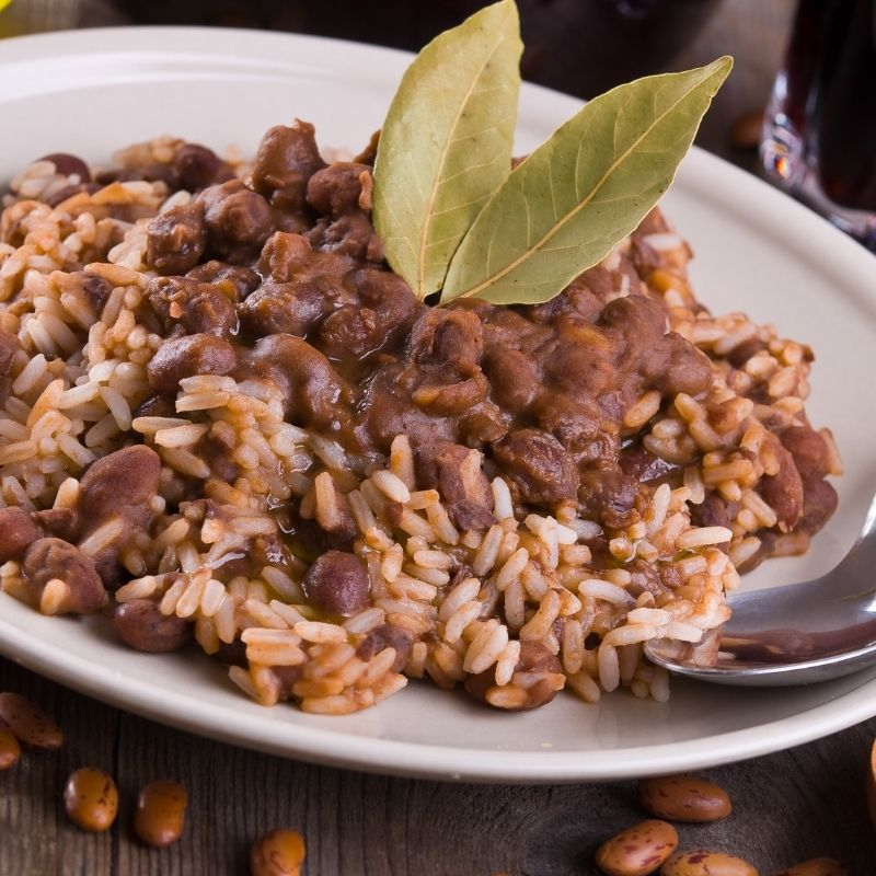 spanish red beans and rice recipe