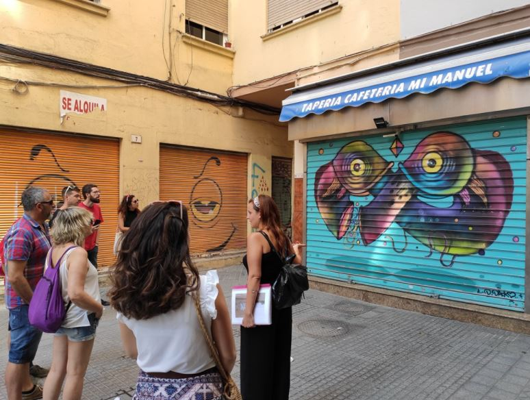 20 Free Things to do in Malaga, The Streets in Soho and Lagunillas Districts offer Amazing Street Artworks