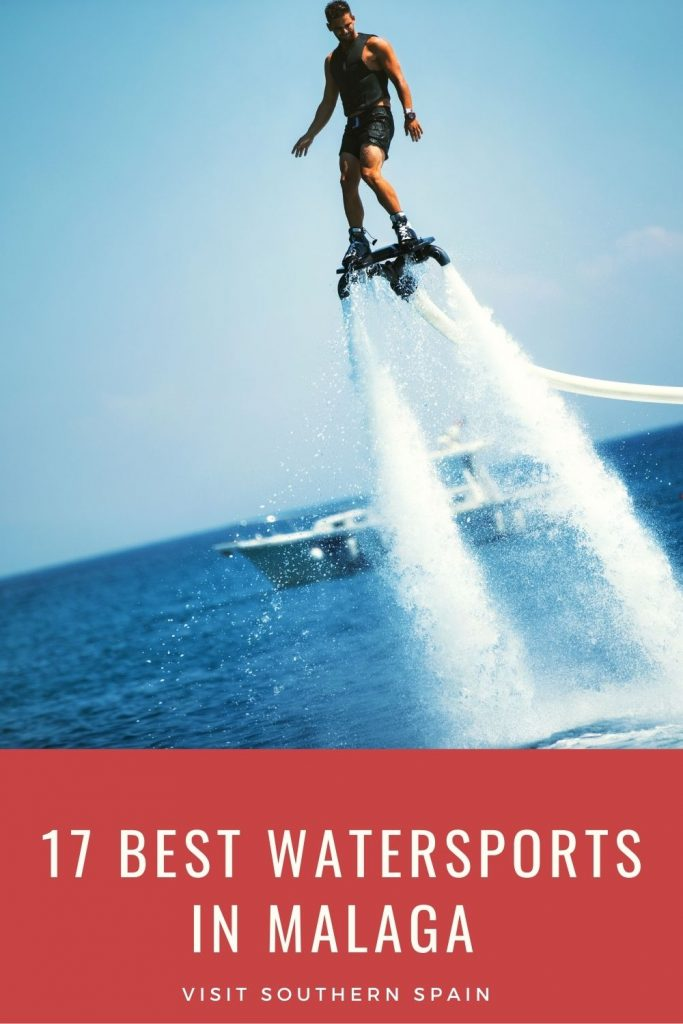 Are you looking for the best watersports in Malaga? Here's a list to help you pick the next activity while visiting Malaga. There's nothing better than a watersport when you're on holiday at the sea. Whether you want to explore the sea while snorkeling and scuba diving or relaxing aboard a catamaran, Costa del Sol can offer you everything. Here are the 17 best watersports in Malaga and Costa del Sol for you and your friends. #watersports #malaga #costadelsol #wateractivities #wateradventure