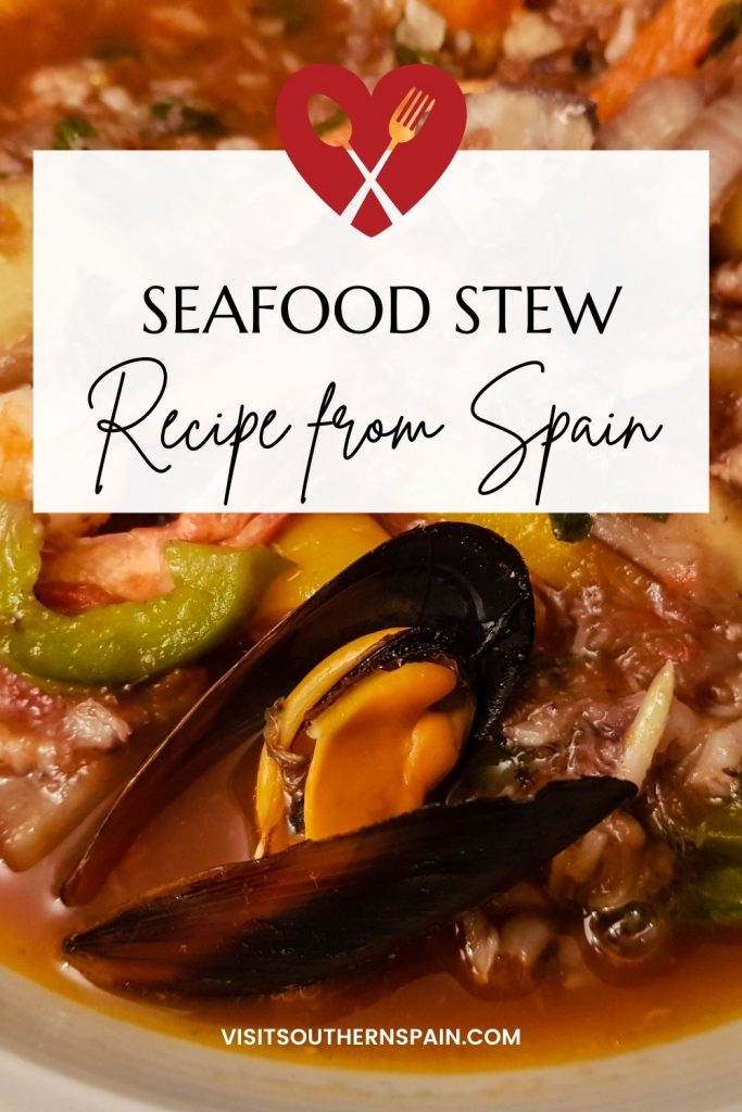 Are you looking for a Spanish seafood recipe? We have the perfect seafood stew for you that you'll certainly love for it is nutritious, healthy, and hearty. This is one of the best seafood dishes, not to mention how easy it is to make - in one hour you'll have a delicious seafood meal. The Spanish-style seafood stew is a dish that is famous worldwide and beloved by every Spaniard and it is packed with all the best types of seafood. #seafoodstew #spanishstew #seafoodrecipe #spanishseafoodstew