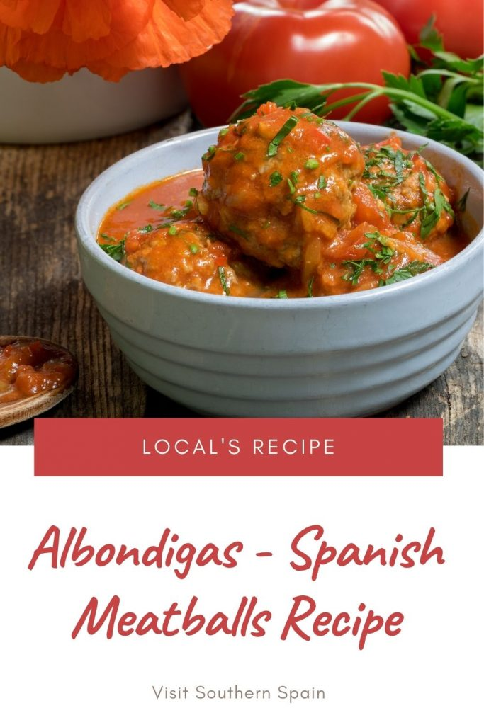 Are you looking for a Spanish Meatballs Recipe? Then you must try our Spanish-style meatballs in tomato sauce that are so tasty and easy to make. In Spain, they are known as Albondigas, a tapas that combines the savory meatballs with uplifting tomato sauce. The tomato sauce is by far the best sauce to go with meatballs and you'll understand that once you've tried it. The Spanish tapas meatballs can be serves as an entree or as a snack. #Albondigas # spanishmeatballs #meatballsrecipe #besttapas