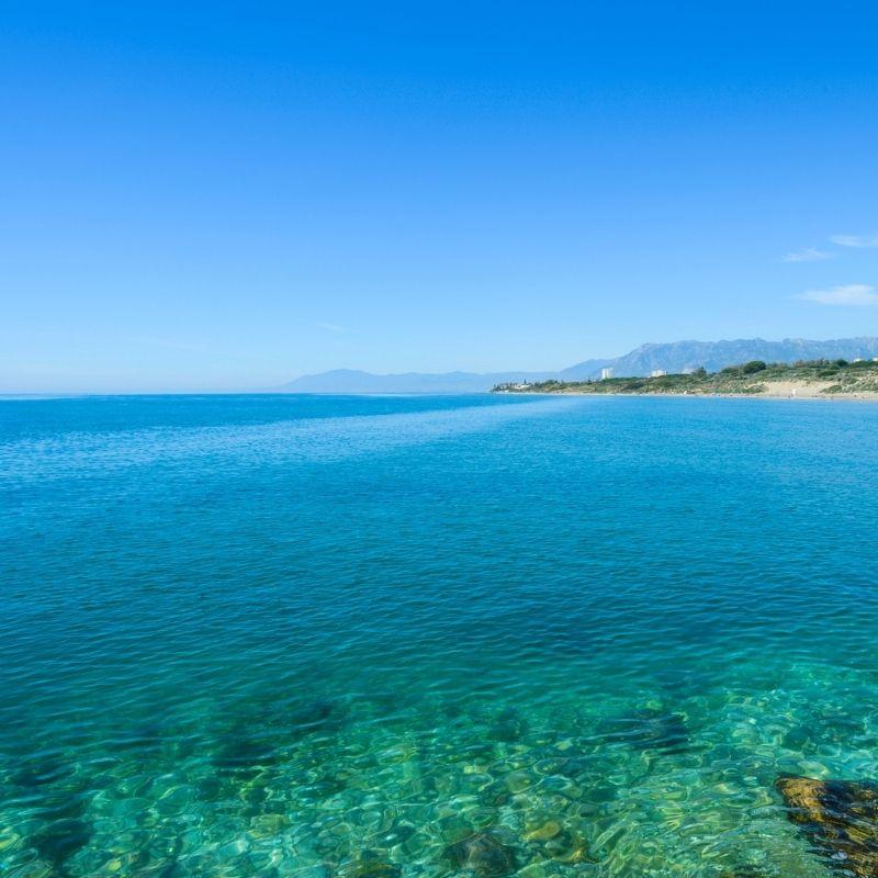 Cabopino beach, Marbella