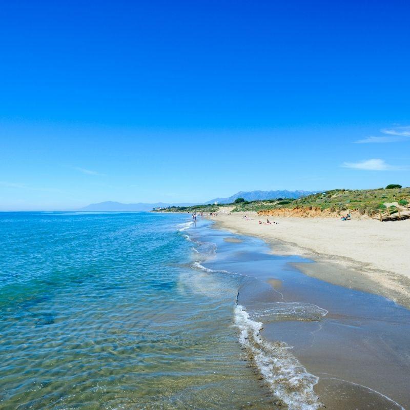 Best Beaches near Malaga, Cabopino beach