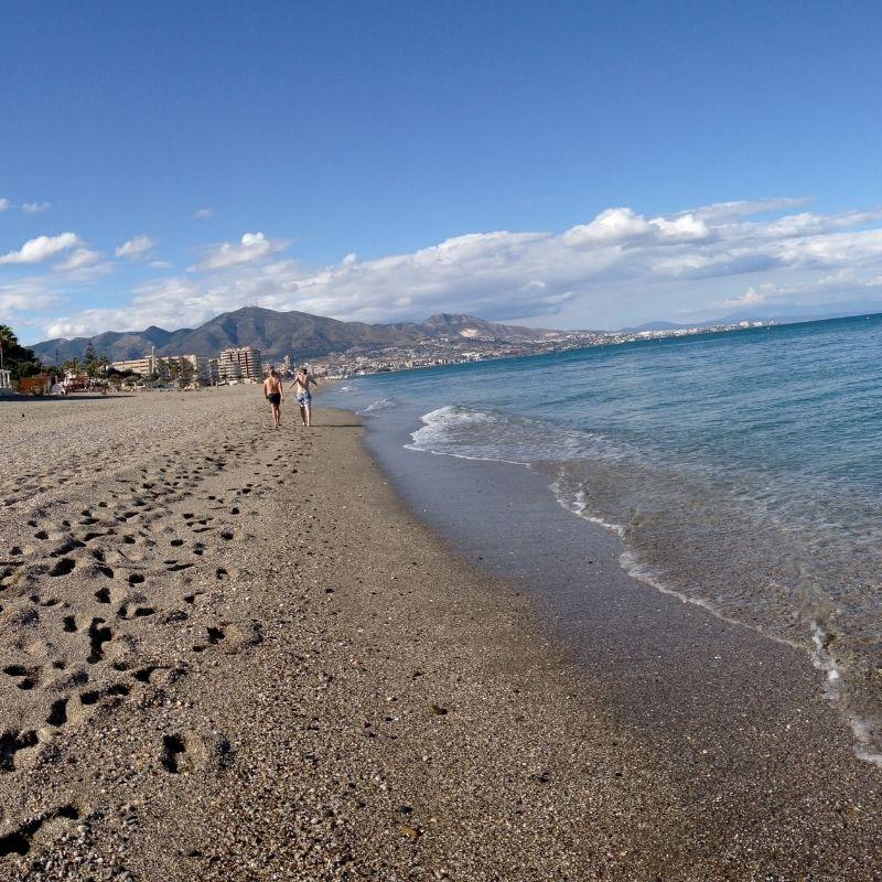 Best Beaches near Malaga, El Castillo beach, Fuengirola