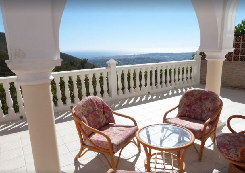 House with stunning views close to Mijas, best holiday villas in malaga