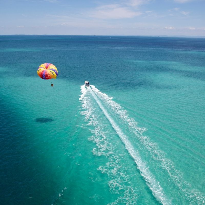 Best watersports in Malaga, Parasailing on a Giant Parachute