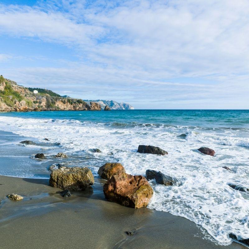 Best Beaches near Malaga, Playa de La Caleta, Malaga