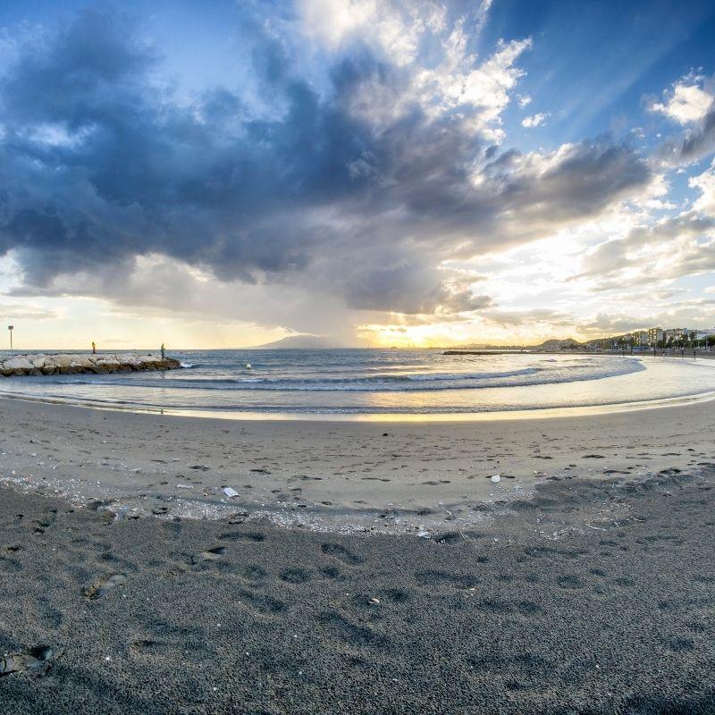 Best Beaches near Malaga Playa de el Palo, Malaga