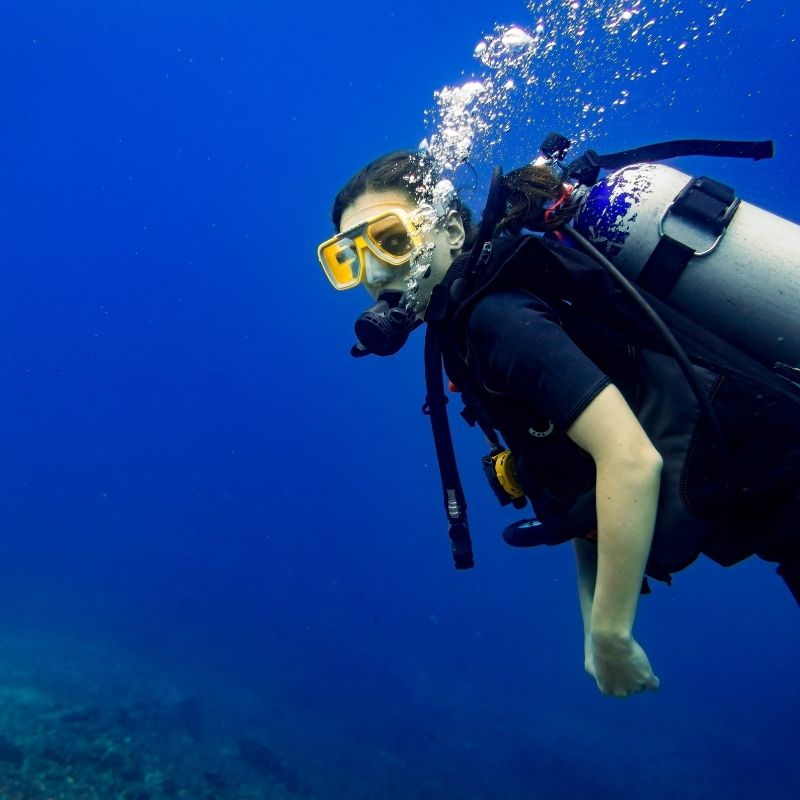 Best watersports in Malaga, Scuba Diving