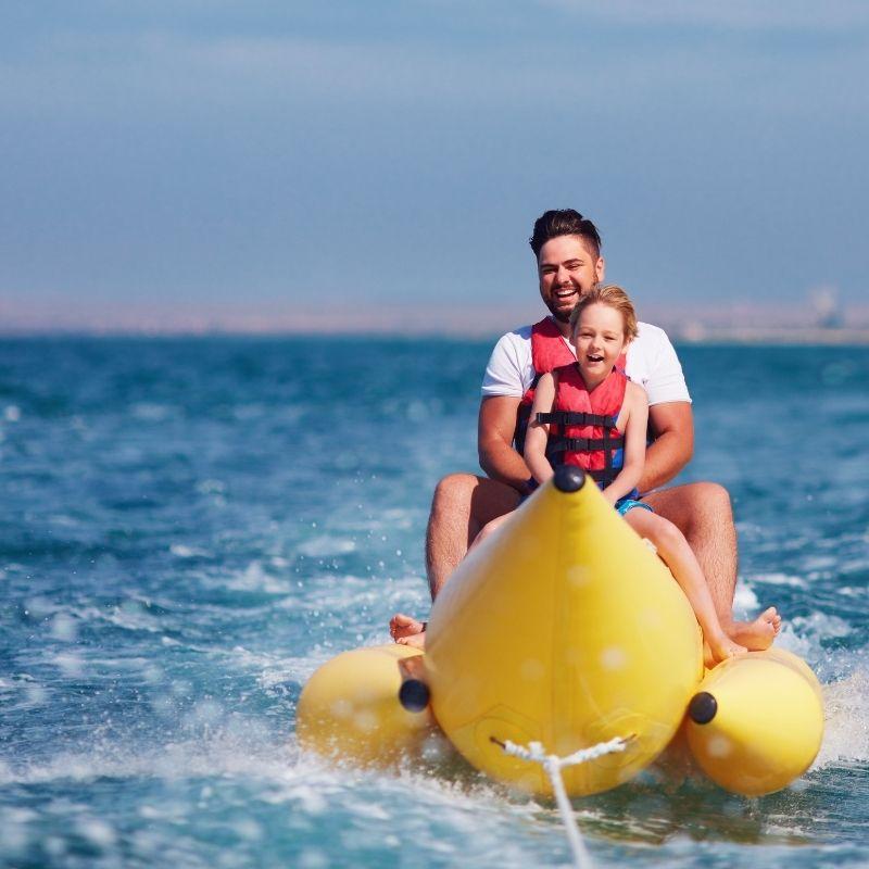 Best Watersports in Malaga, Ski Tubes & Banana Boats