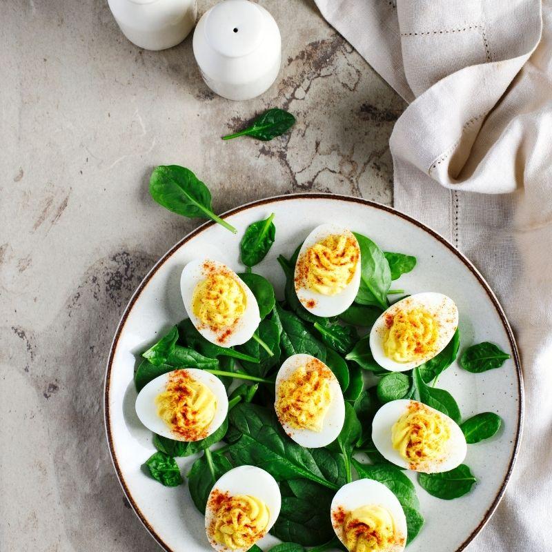 Spanish Deviled Eggs - Huevos Rellenos Recipe