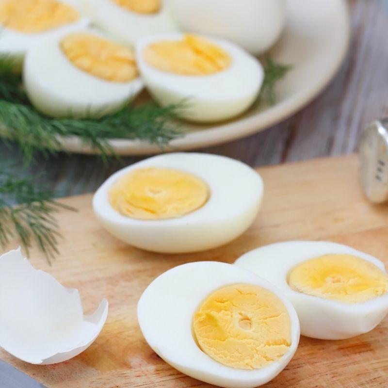 tuna and eggs