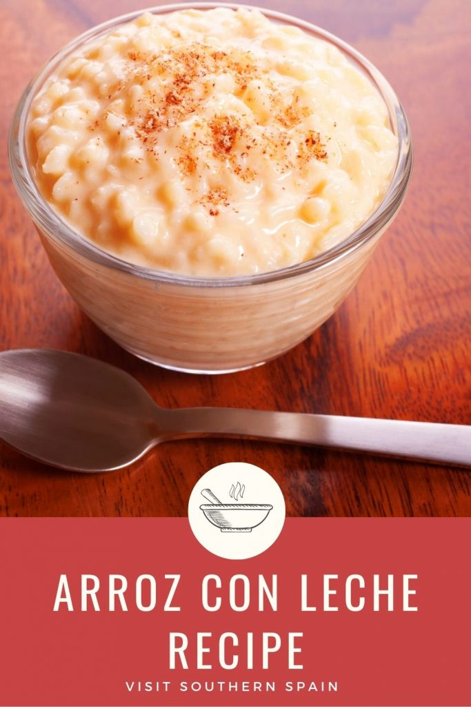 Are you looking for a Spanish rice pudding recipe? This milk rice is a simple way to prepare a dessert that won't require any fancy ingredients. The secret, of course, it's in the spices. When you'll prepare the arroz con leche the entire house will smell of cinnamon and lemon zest, just perfect for an autumn day. The creamy rice pudding recipe is so delicious you wouldn't want any other dessert. Try it if you don't believe us! #ricepudding #arrozconleche #spanishricepudding #sweetrice #dessert