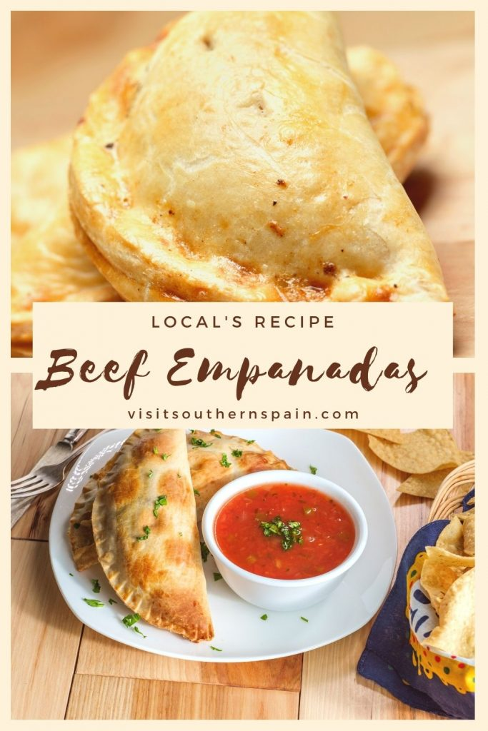 Are you looking for a Spanish Beef Empanadas Recipe? You're in luck because our easy empanada recipe will help you make some delicious beef empanadas to die for. These homemade empanadas have a flaky savory pastry, that is filled with a meaty filling. The Spanish ground meat empanadas are the perfect choice for any party as it is an appetizer your guest will absolutely love. Try the authentic empanada recipe and taste for yourself! #beefempanadas #spanishempanadas #empanadas #easyempanadas